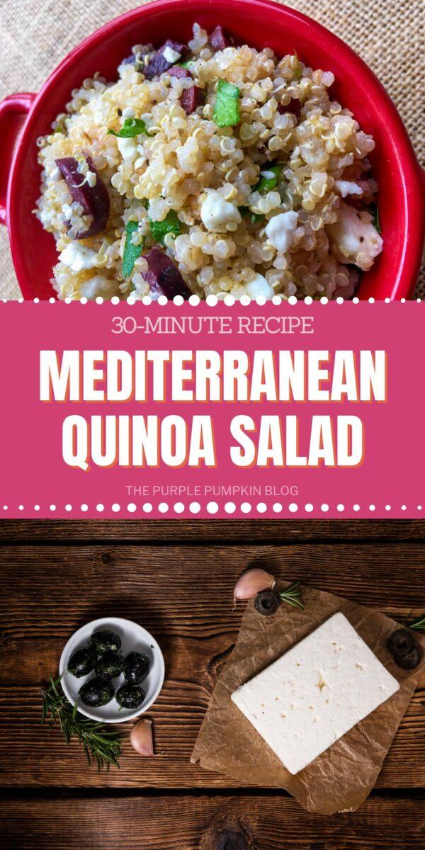 Recipe for Mediterranean Quinoa Salad