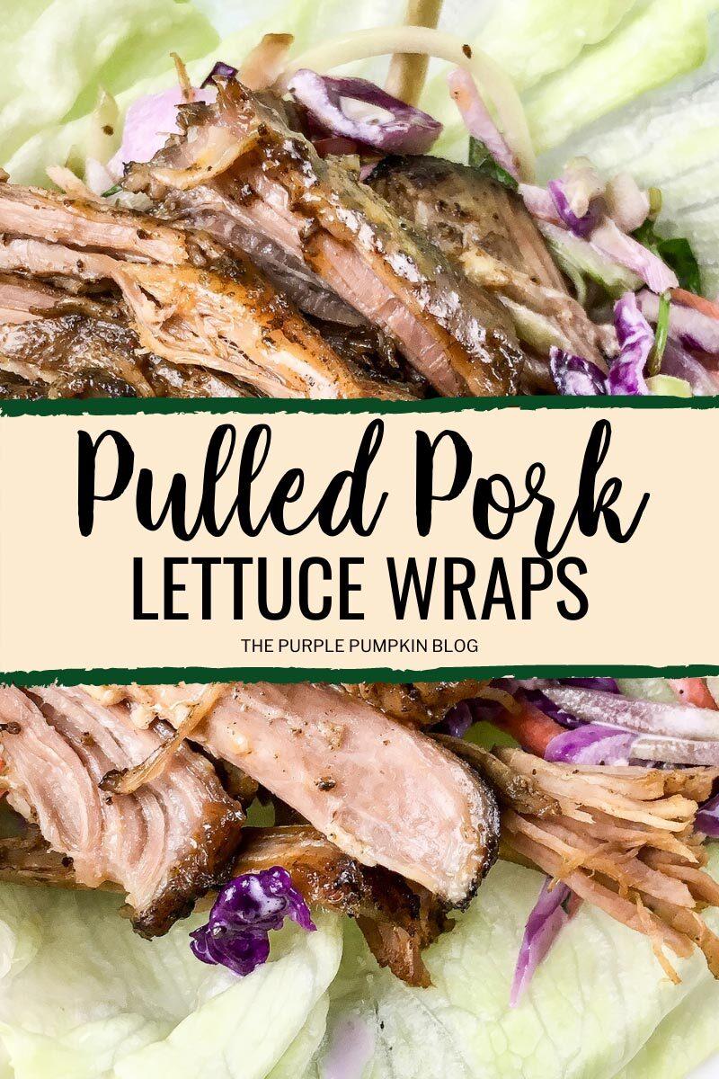 Recipe for Pulled Pork Lettuce Wraps