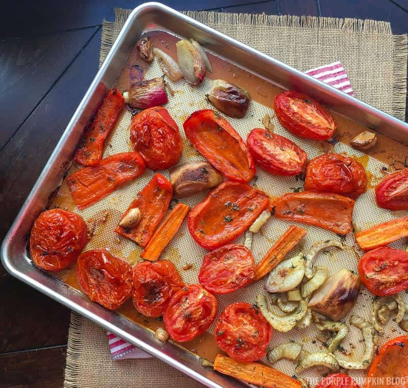 Roasted Fennel & Tomatoes