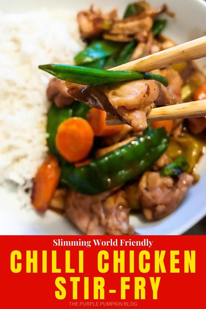 Slimming World Friendly Chilli Chicken Stir-Fry