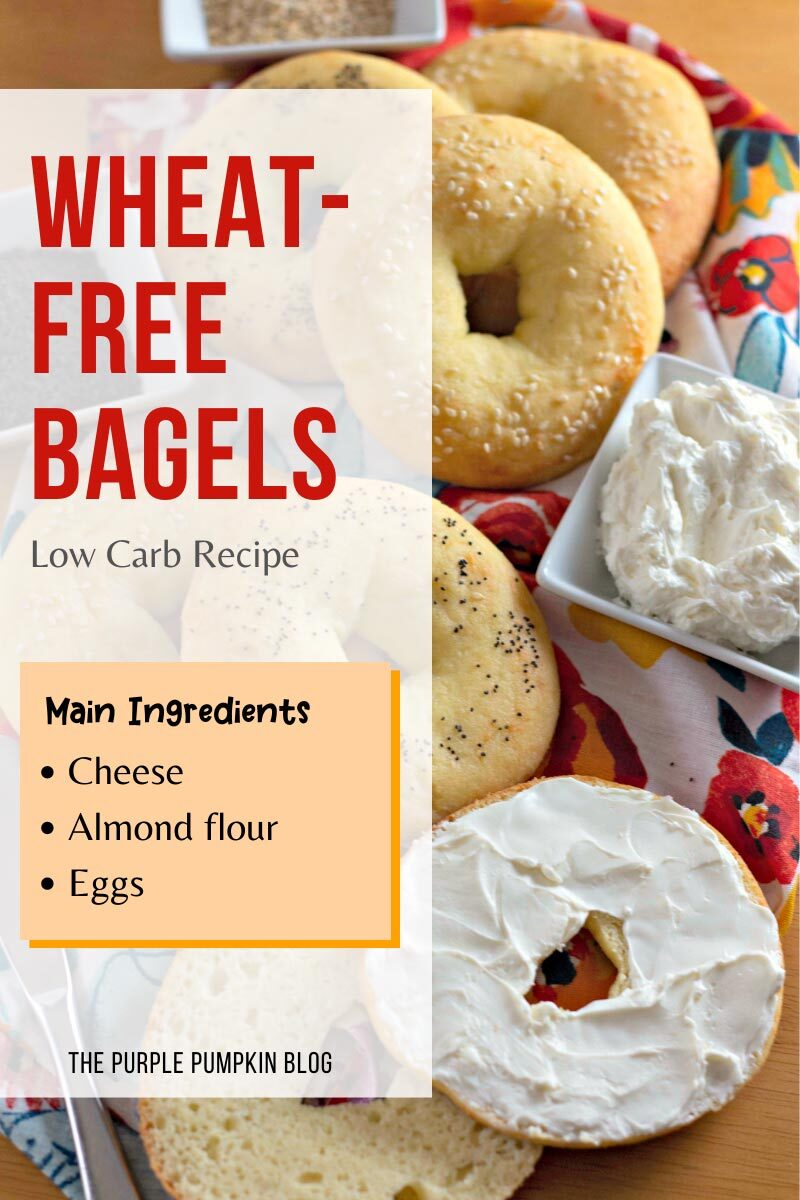 Wheat-Free Bagels Low Carb Recipe