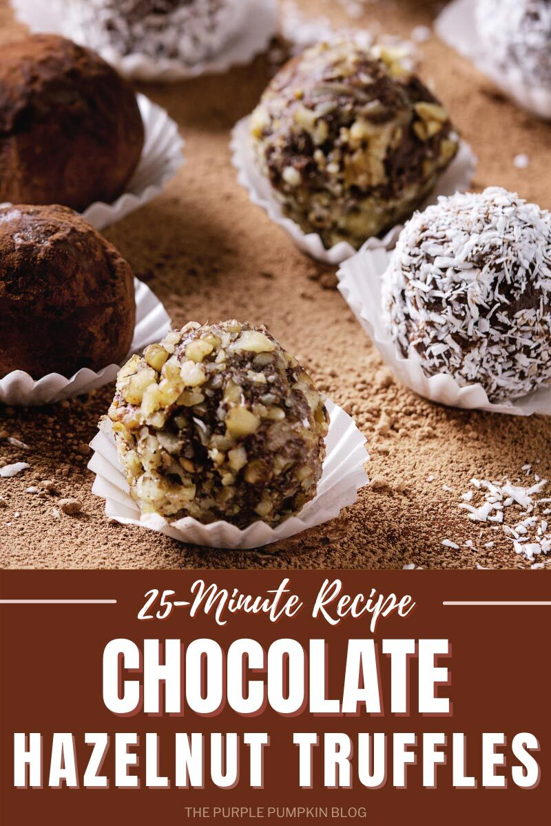 25-Minute Recipe for Chocolate Hazelnut Truffles