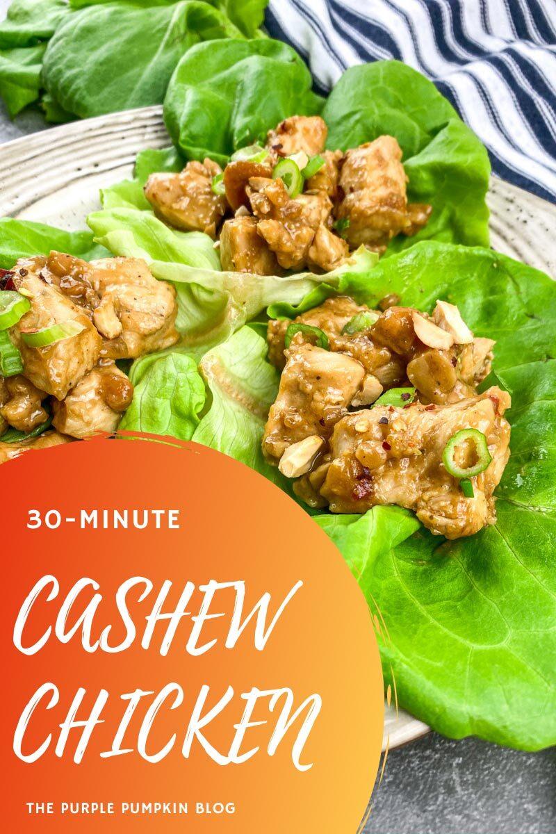 30-Minute Cashew Chicken