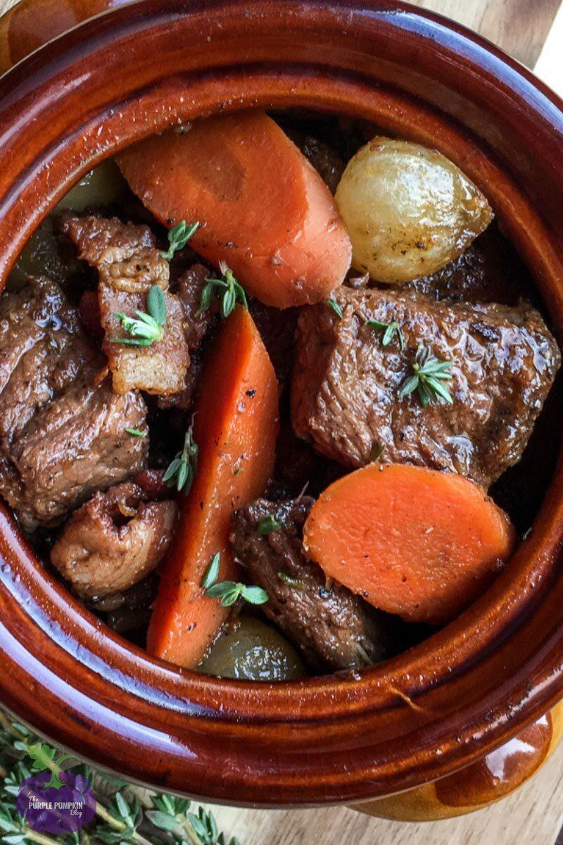 Beef Burgundy Stew Recipe