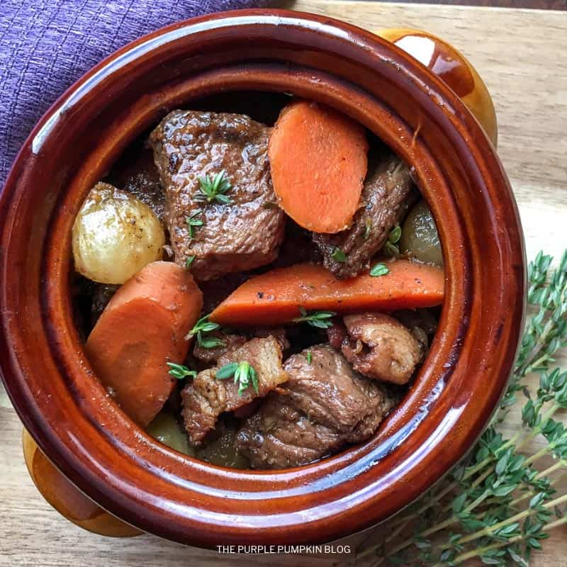 Braised Beef Burgundy Stew Recipe