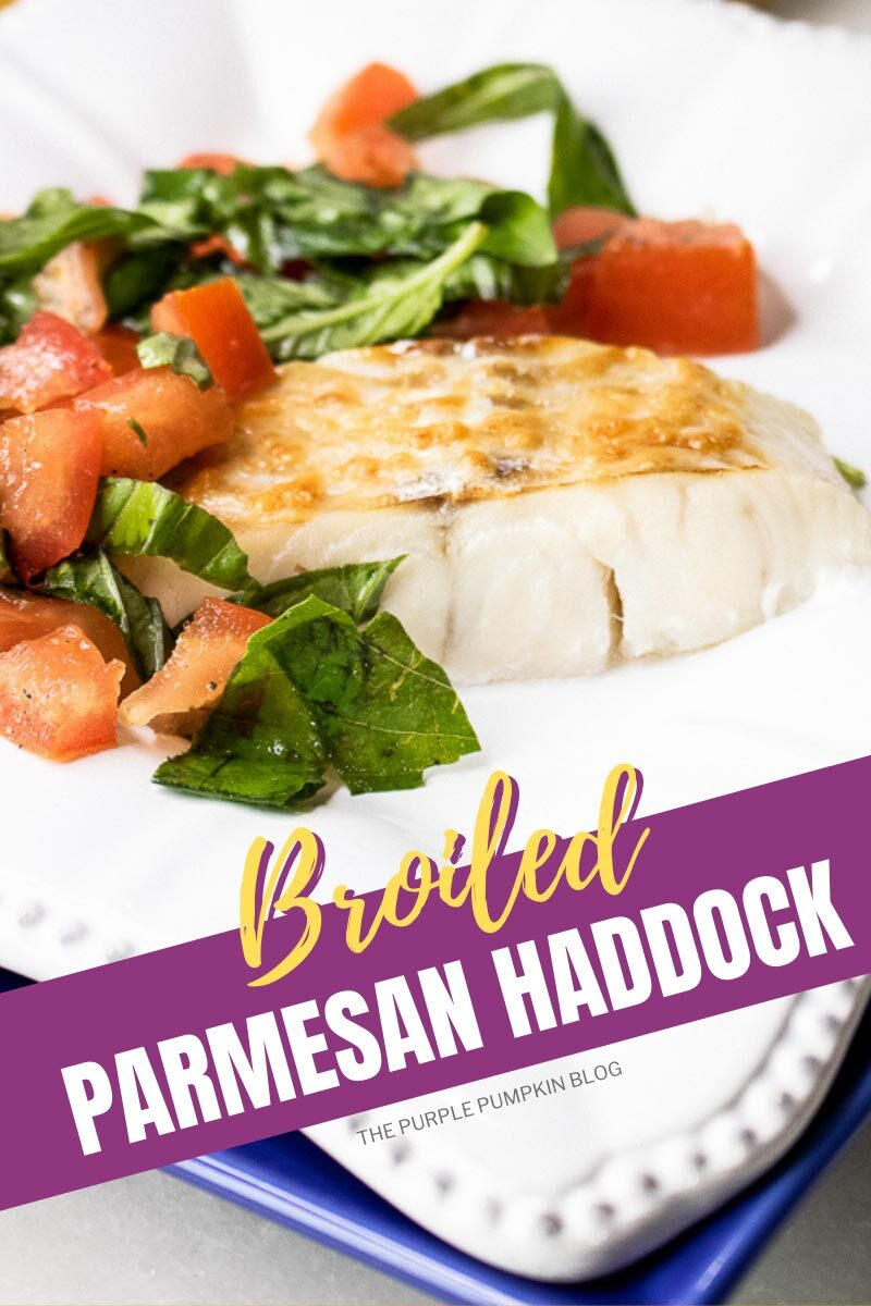 Broiled Parmesan Haddock
