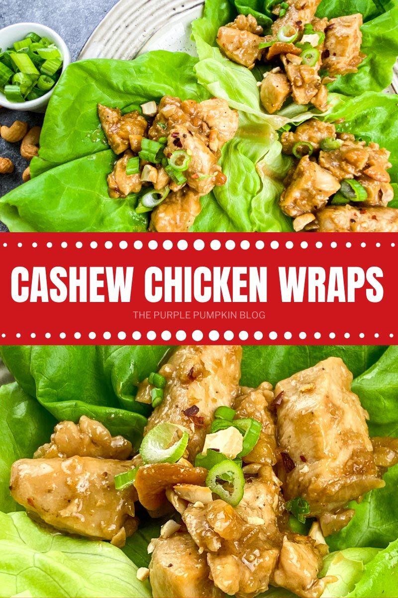 Cashew Chicken Wraps Recipe