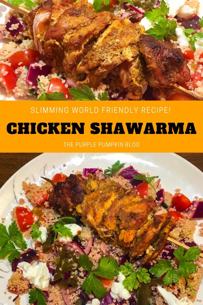 Chicken Shawarma - Slimming World Friendly Recipe
