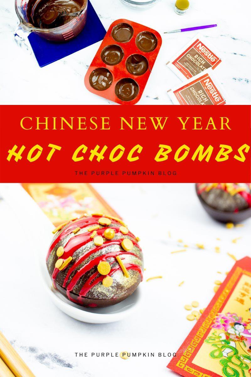 Chinese New Year Hot Choc Bombs