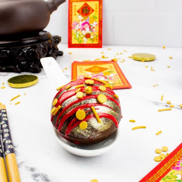 Chinese New Year Hot Cocoa Bombs Recipe