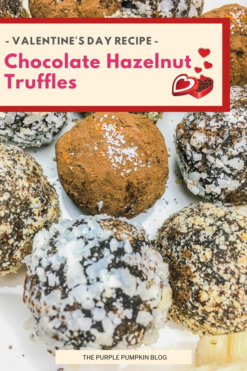 Chocolate Hazelnut Truffles Valentine's Day Recipe
