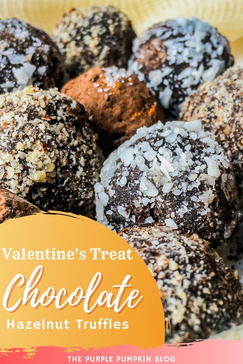 Chocolate Hazelnut Truffles - Valentine's Treat