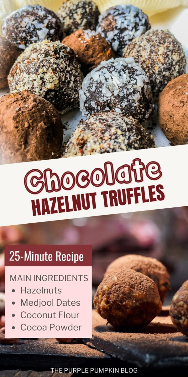Chocolate Hazelnut Truffles with Medjool Dates