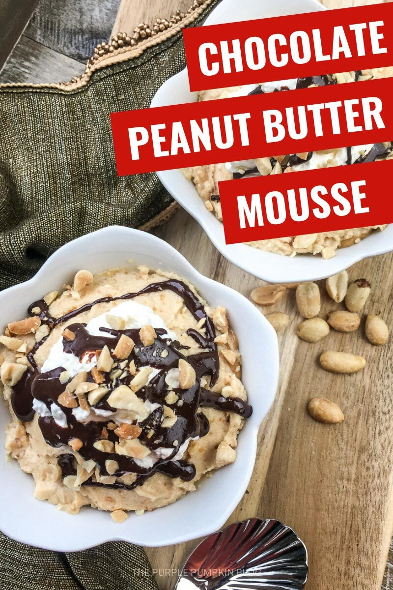 Chocolate Peanut Butter Mousse (2)