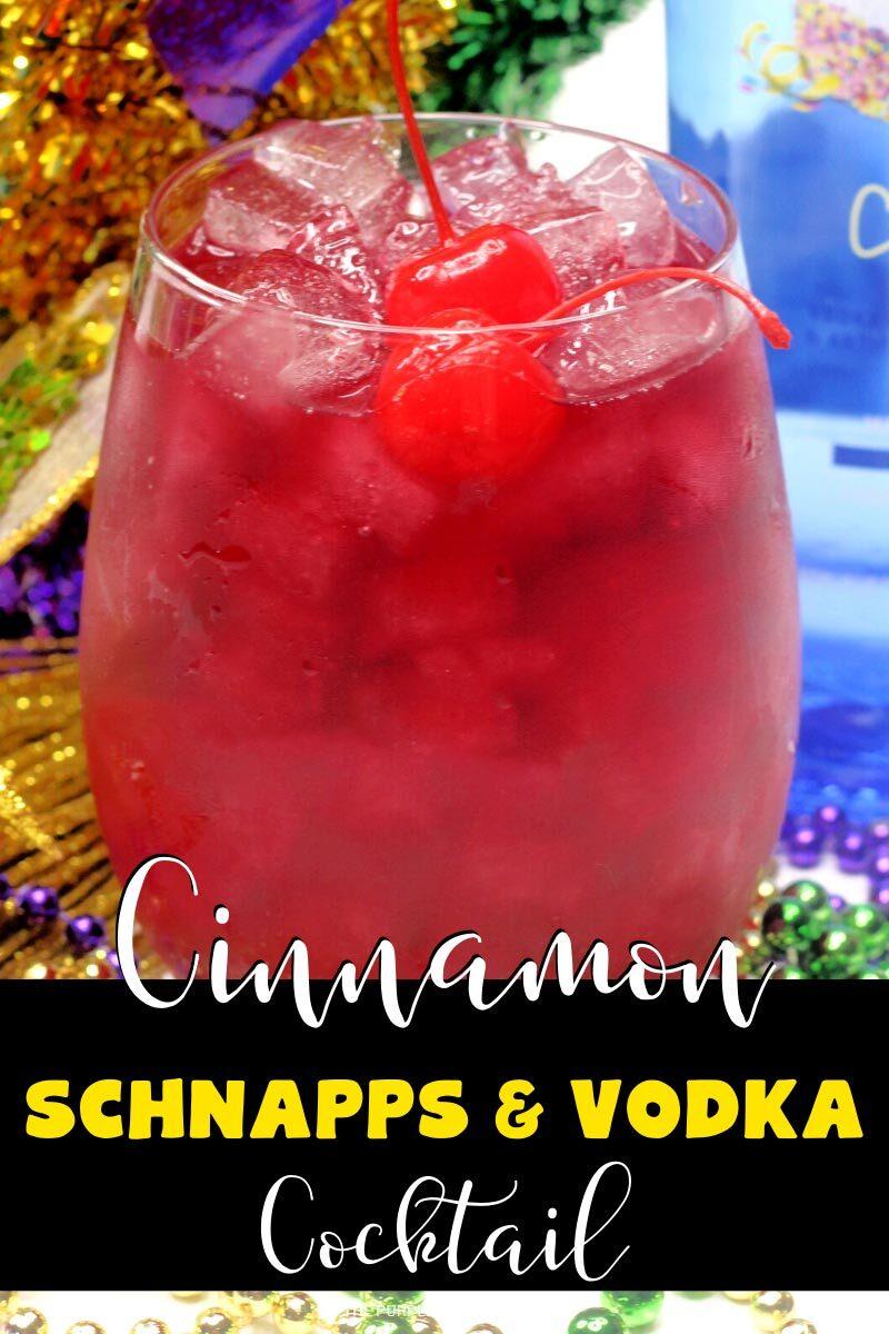 Cinnamon Schnapps & Vodka Cocktail