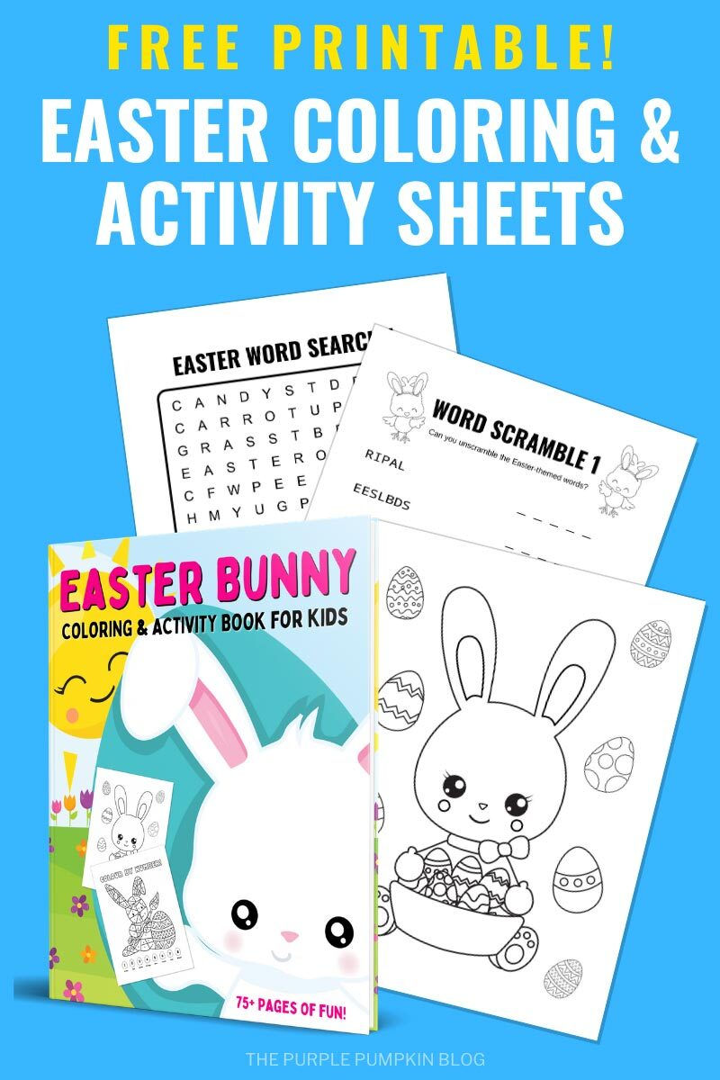 Free Printable Easter Activity and Coloring Sheets