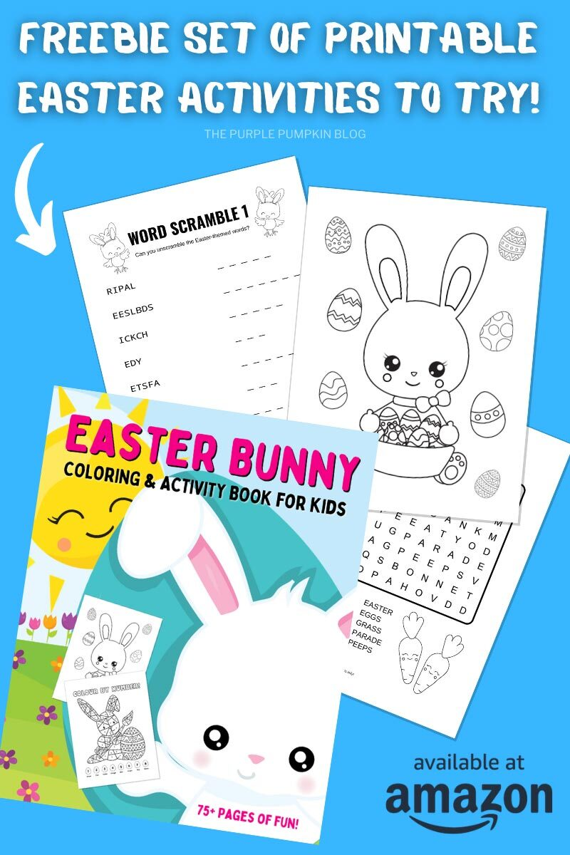 Freebie Set of Printable Easter Activities To Try!