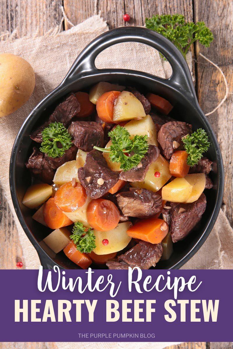 Hearty Beef Stew Winter Recipe