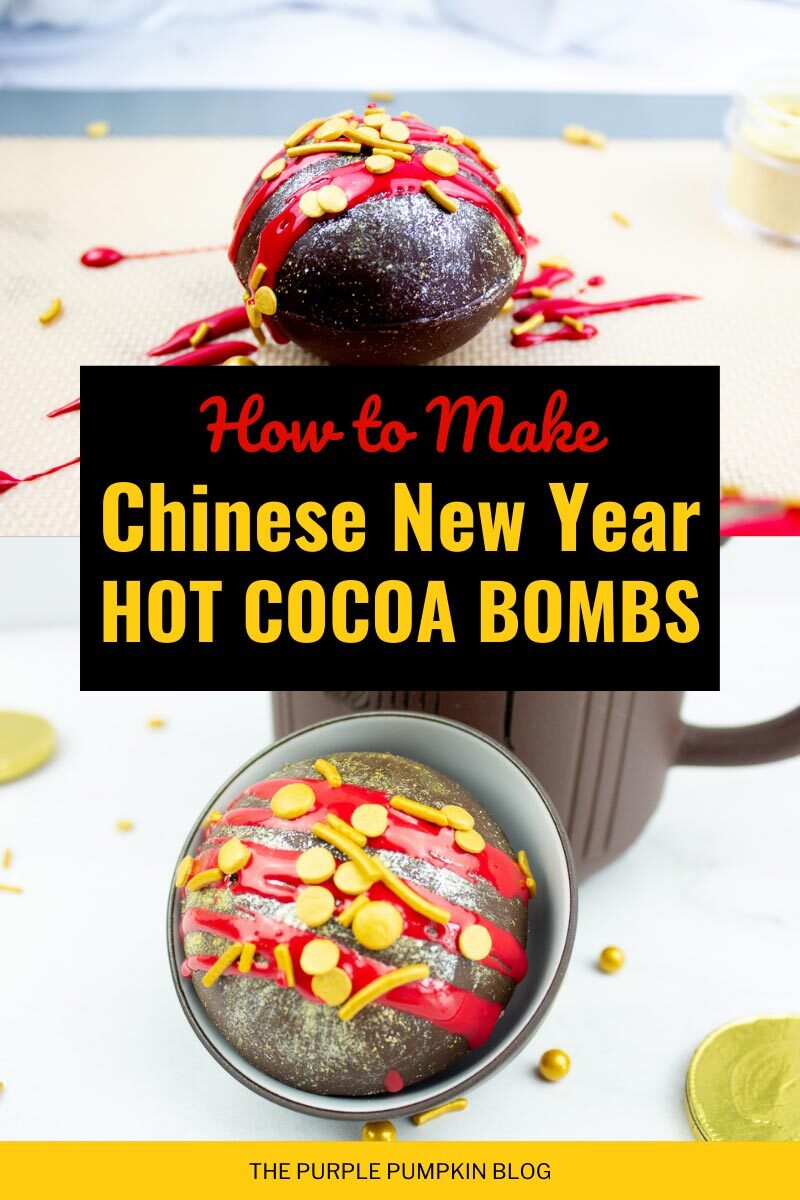 How To Make Chinese New Year Hot Cocoa Bombs
