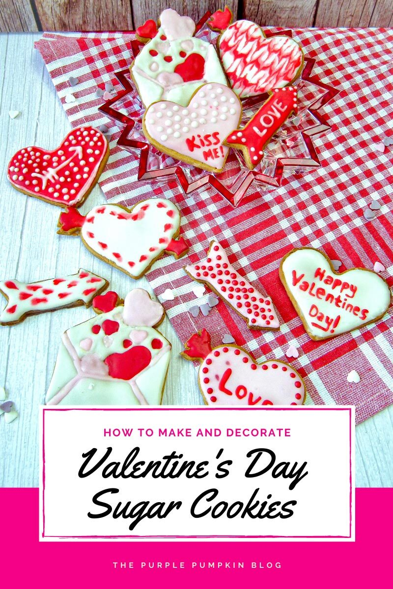 How to Make & Decorate Valentine's Day Sugar Cookies