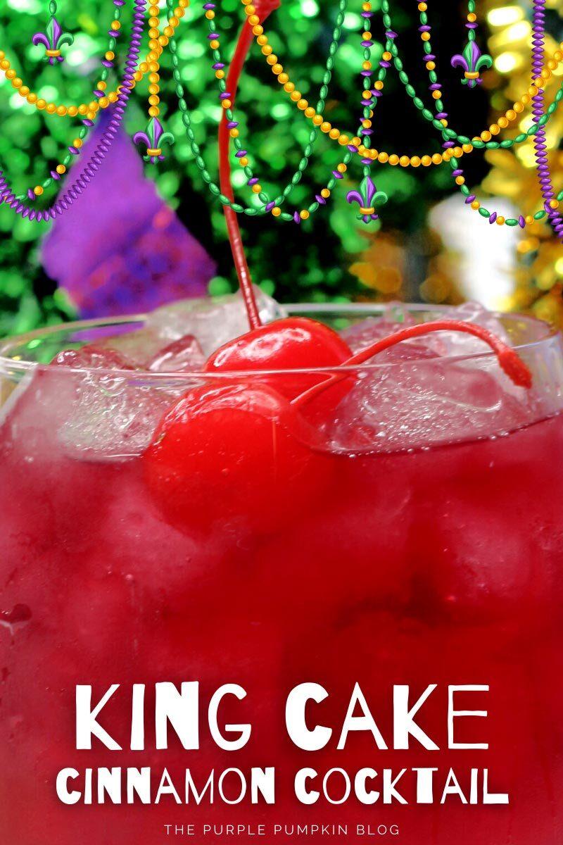 King Cake Cinnamon Cocktail