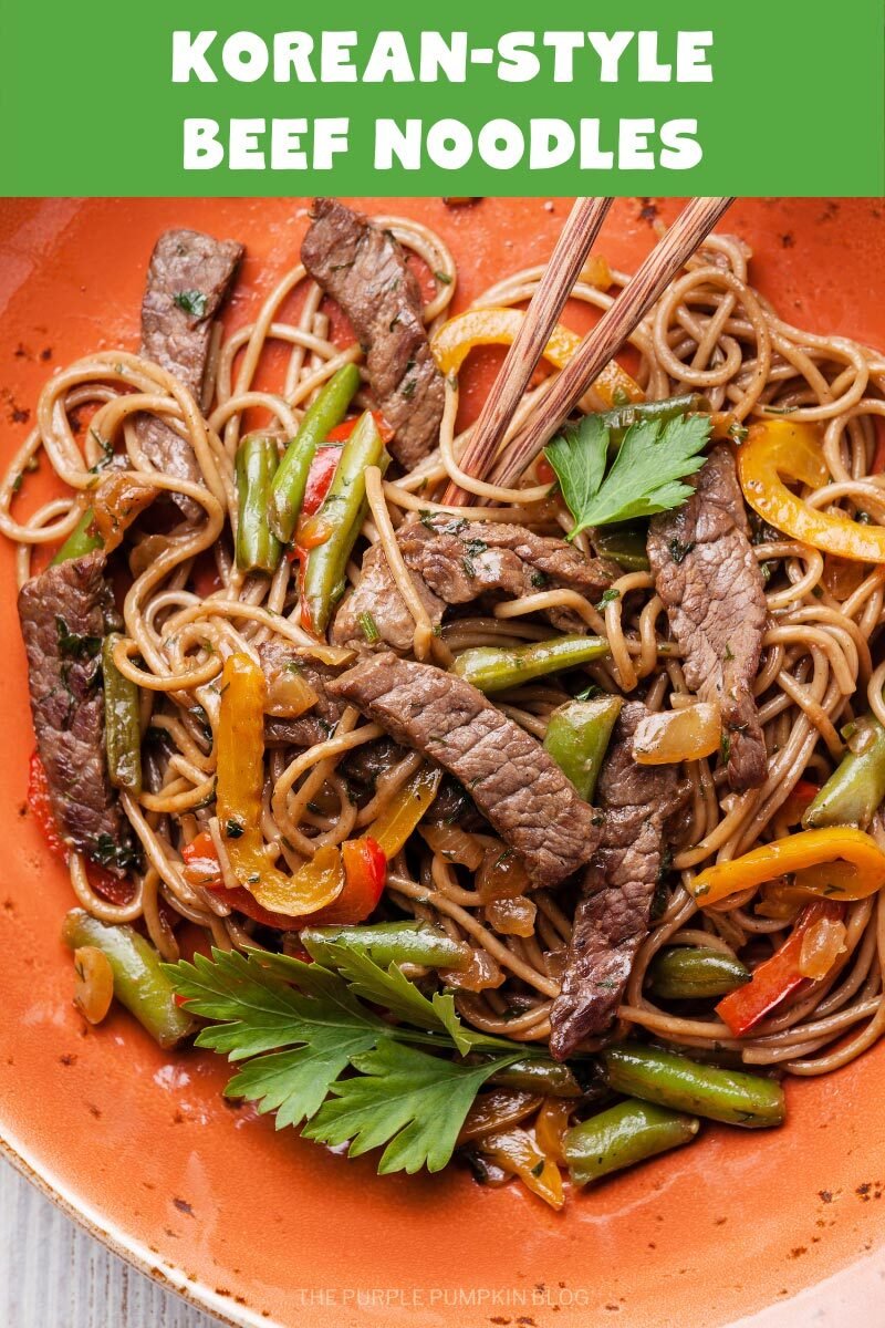 Korean-Style Beef Noodles