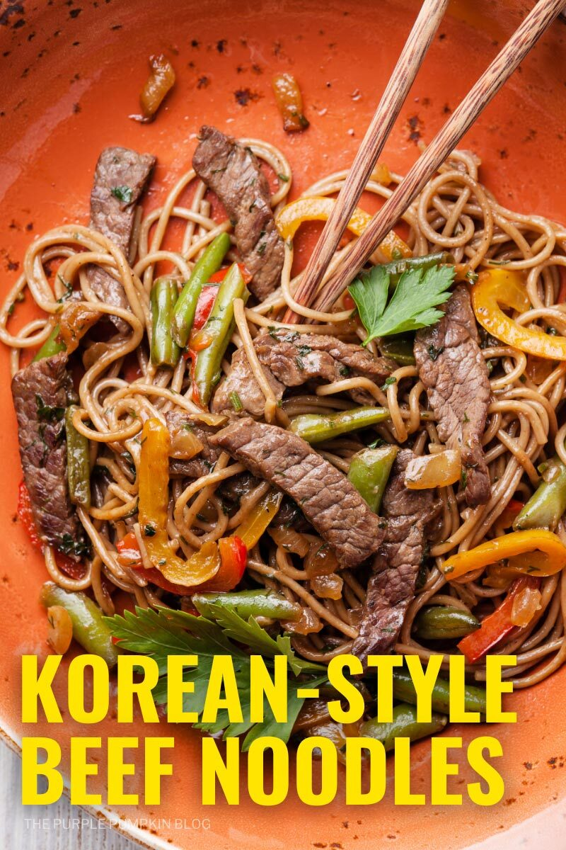 Korean-Style Beef and Noodles