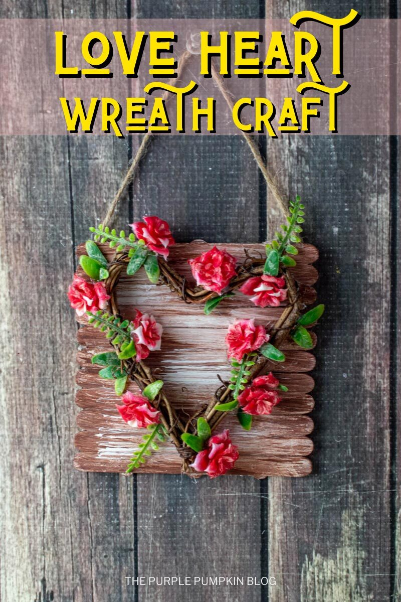 Love Heart Wreath Craft