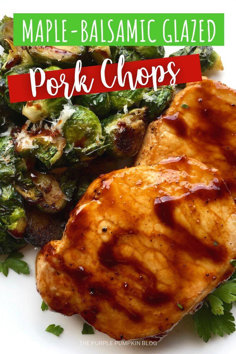 Maple-Balsamic Glazed Pork Chops