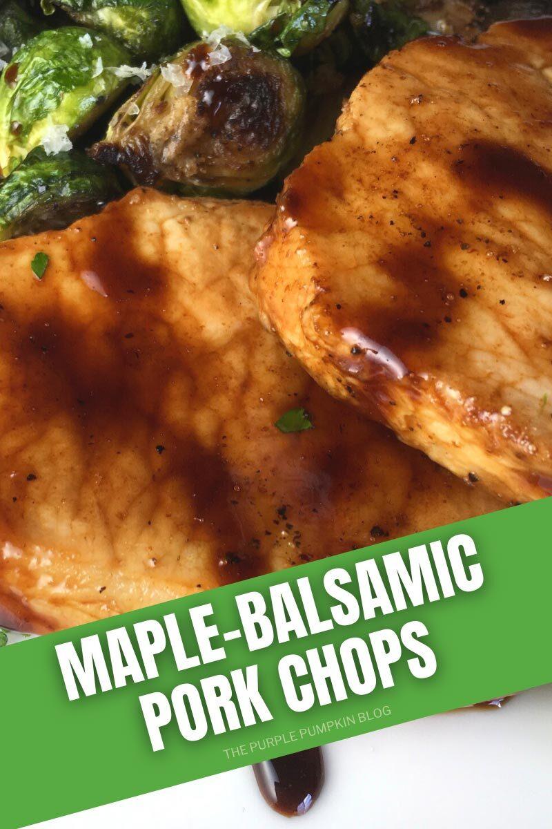 Maple-Balsamic Pork Chops Recipe