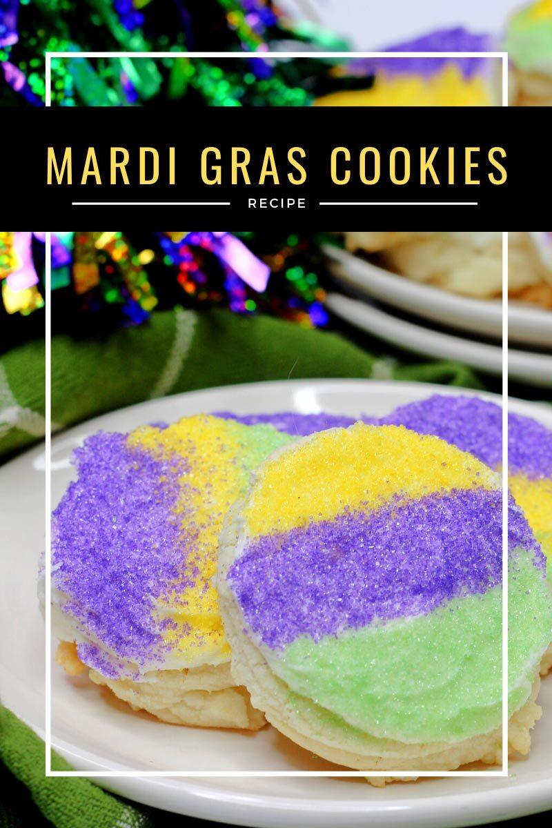 Mardi Gras Cookies Recipe