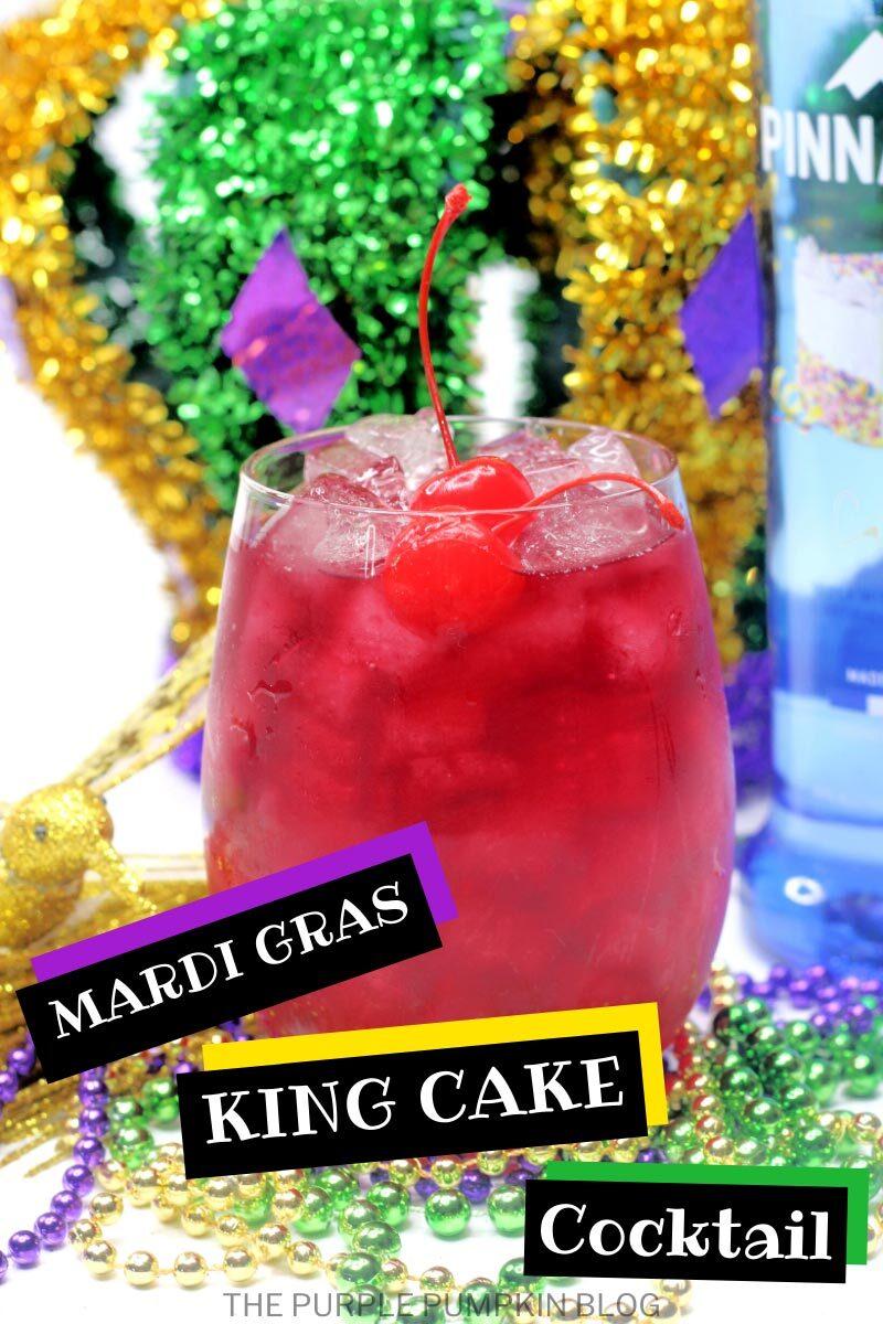 Mardi Gras King Cake Cocktail