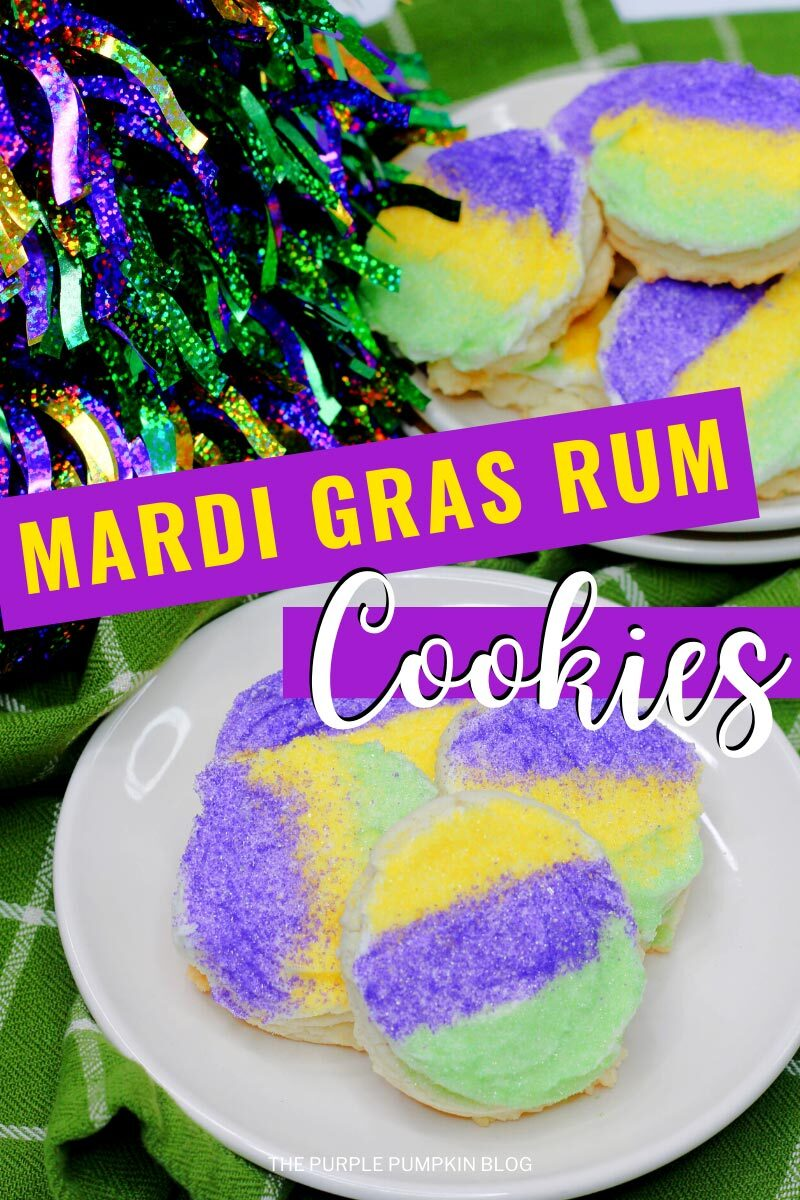 Mardi Gras Rum Cookies