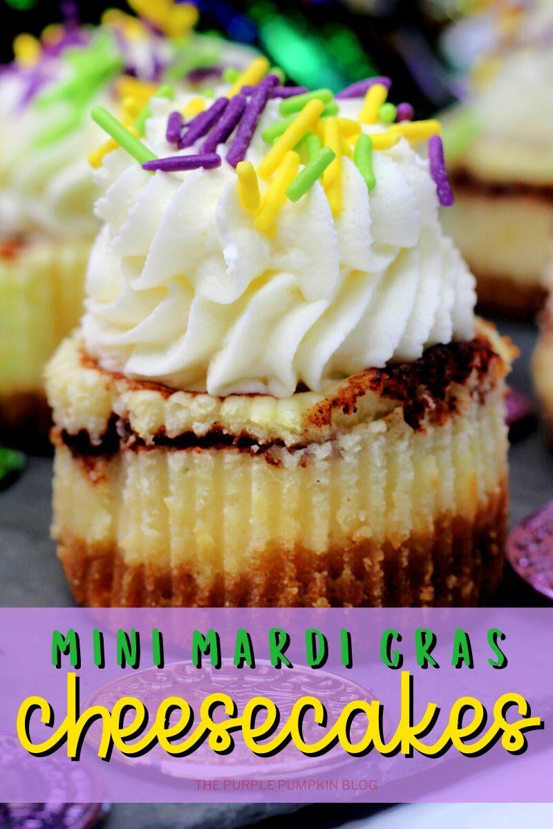 Mini Mardi Gras Cheesecakes (2)