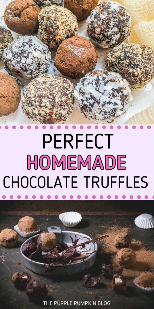 Perfect Homemade Chocolate Truffles