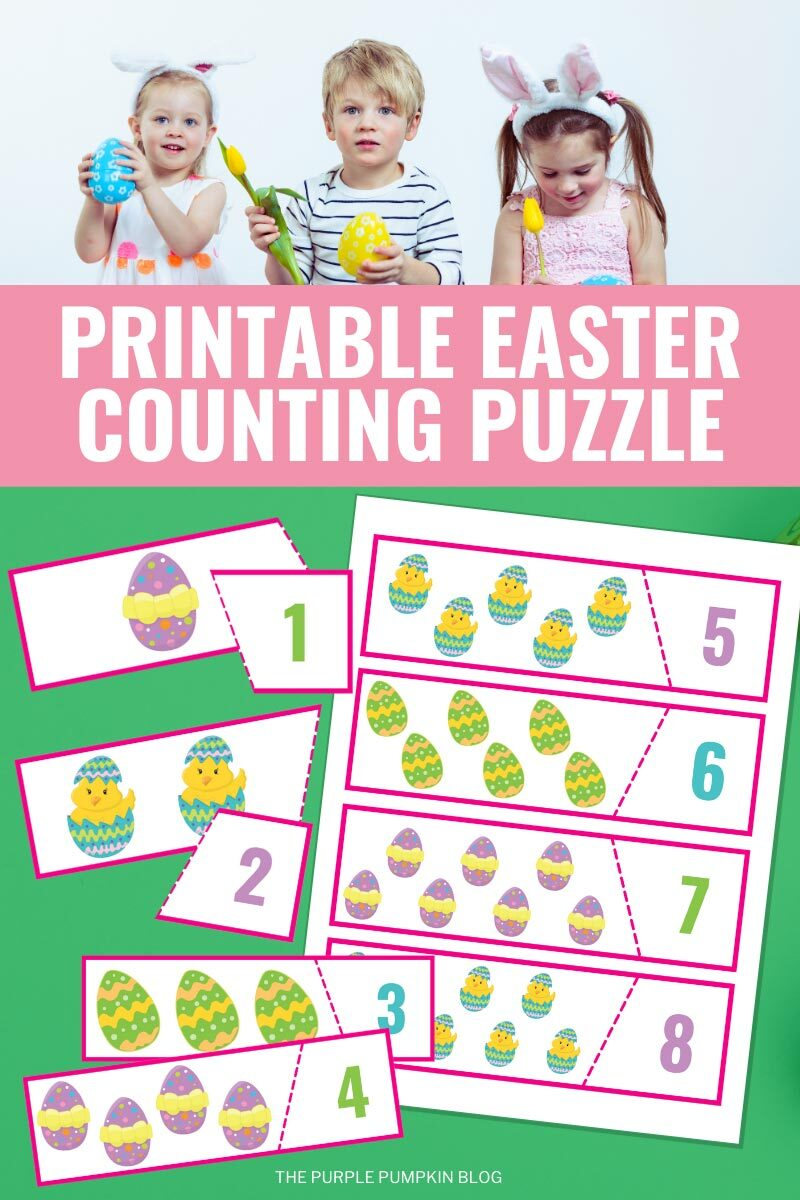 Printable Easter Counting Puzzle