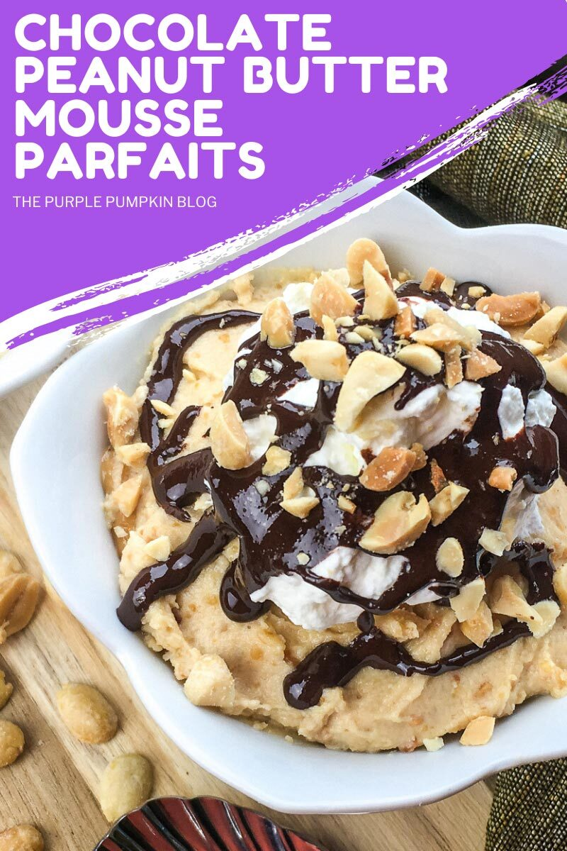 Recipe for Chocolate Peanut Butter Mousse Parfaits