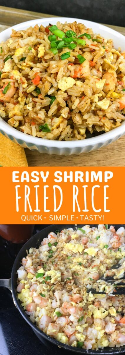Recipe for Easy Shrimp Fried Rice