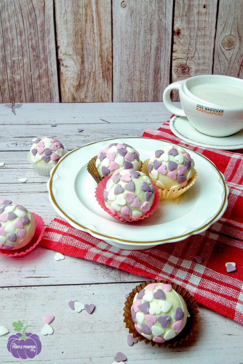 Recipe for Hot Chocolate Bombs for Valentine's Day