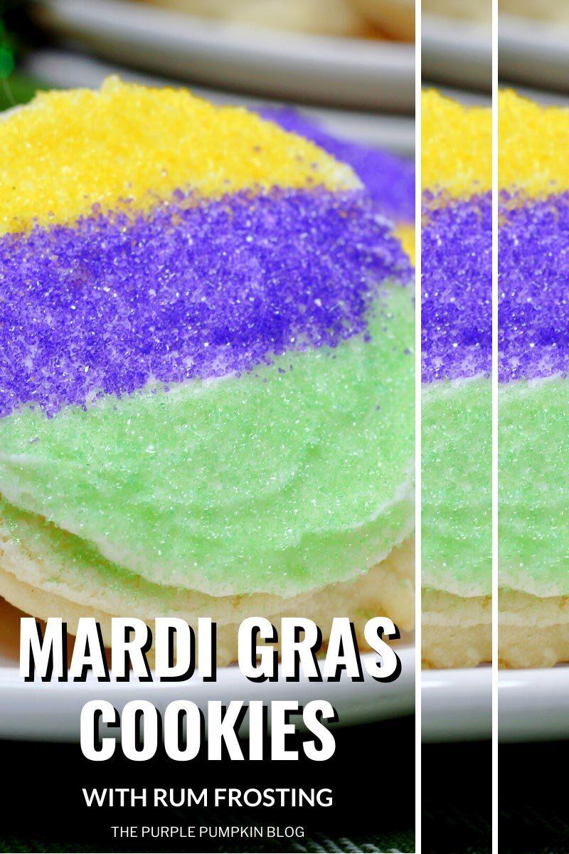 Recipe for Mardi Gras Cookies
