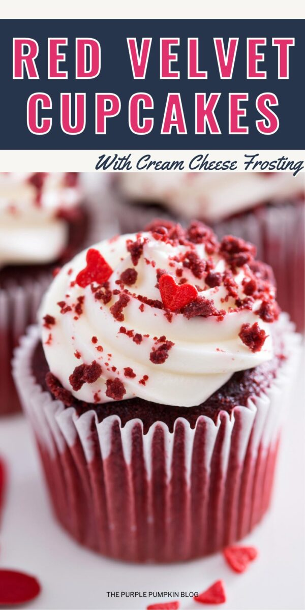 Recipe for Red Velvet Cupcakes with Cream Cheese Frosting