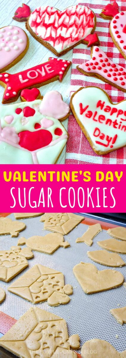 Recipe for Valentine's Day Sugar Cookies