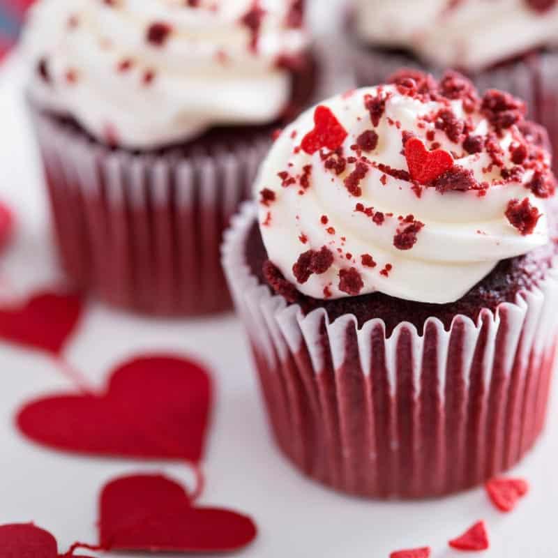 Red Velvet Cupcakes Recipe for Valentine's Day