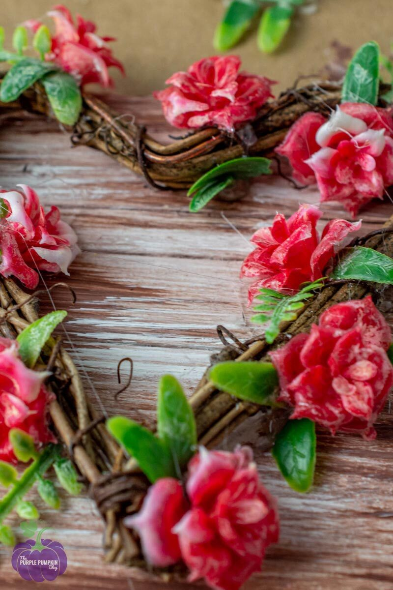 Rose Wreath for Valentine's Day