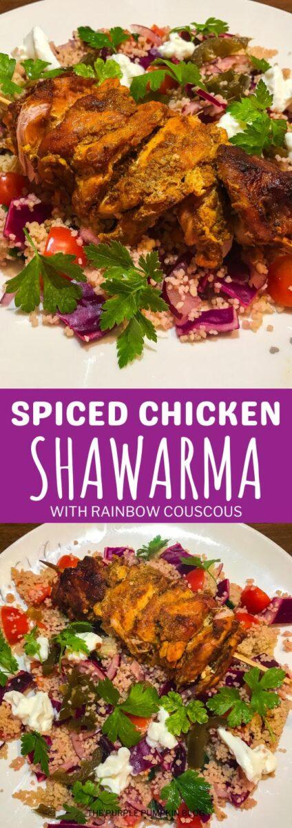Spiced Chicken Shawarma