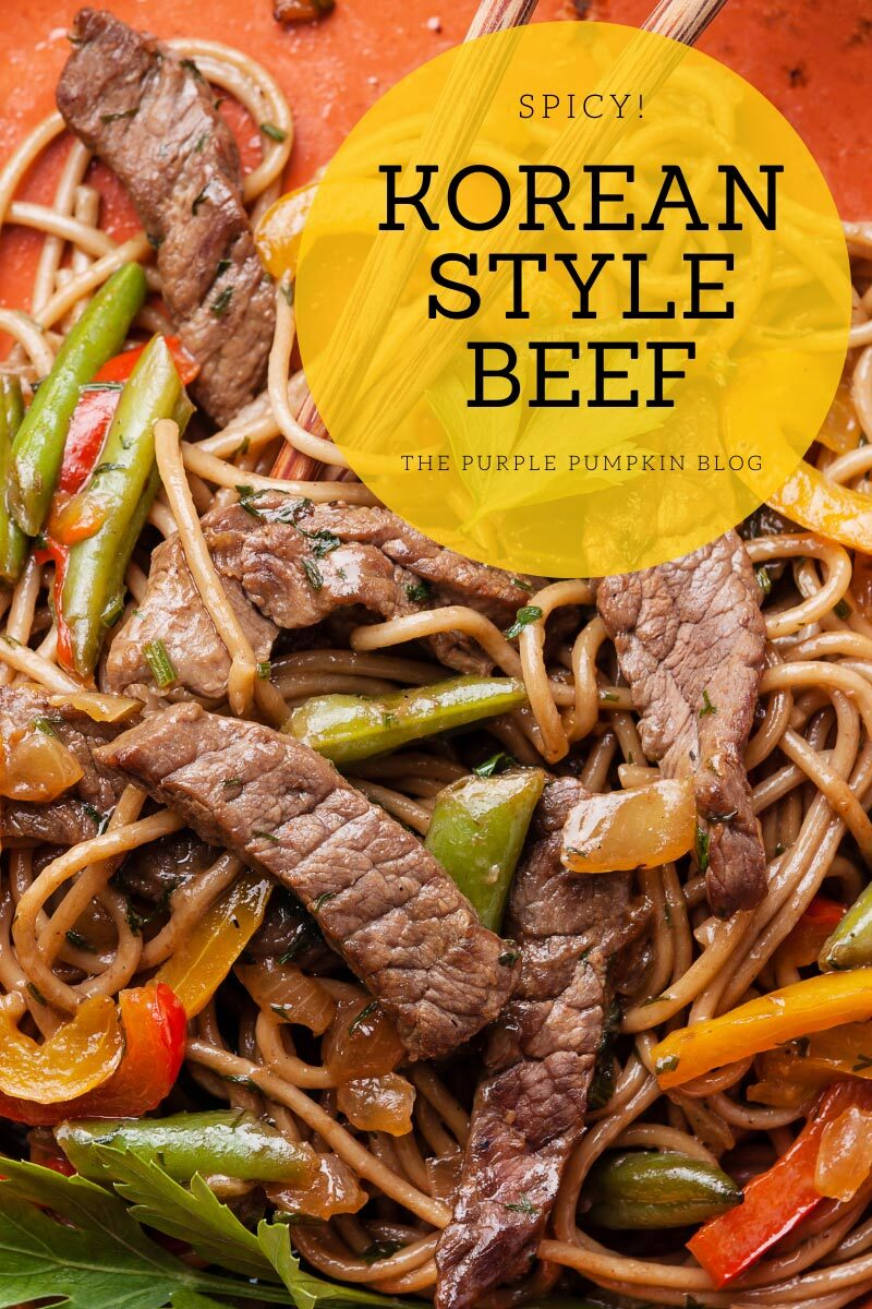 Spicy Korean Style Beef