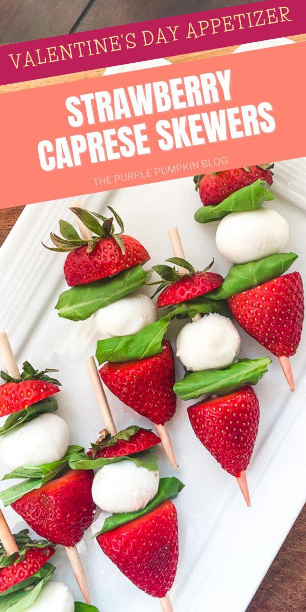 Strawberry Caprese Skewers Appetizer Recipe
