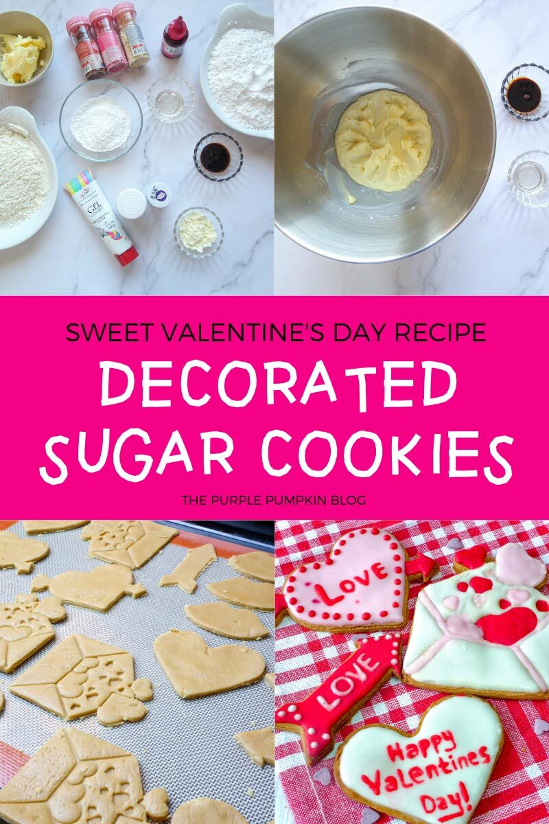 Sweet Valentine's Day Recipe for Decorated Sugar Cookies