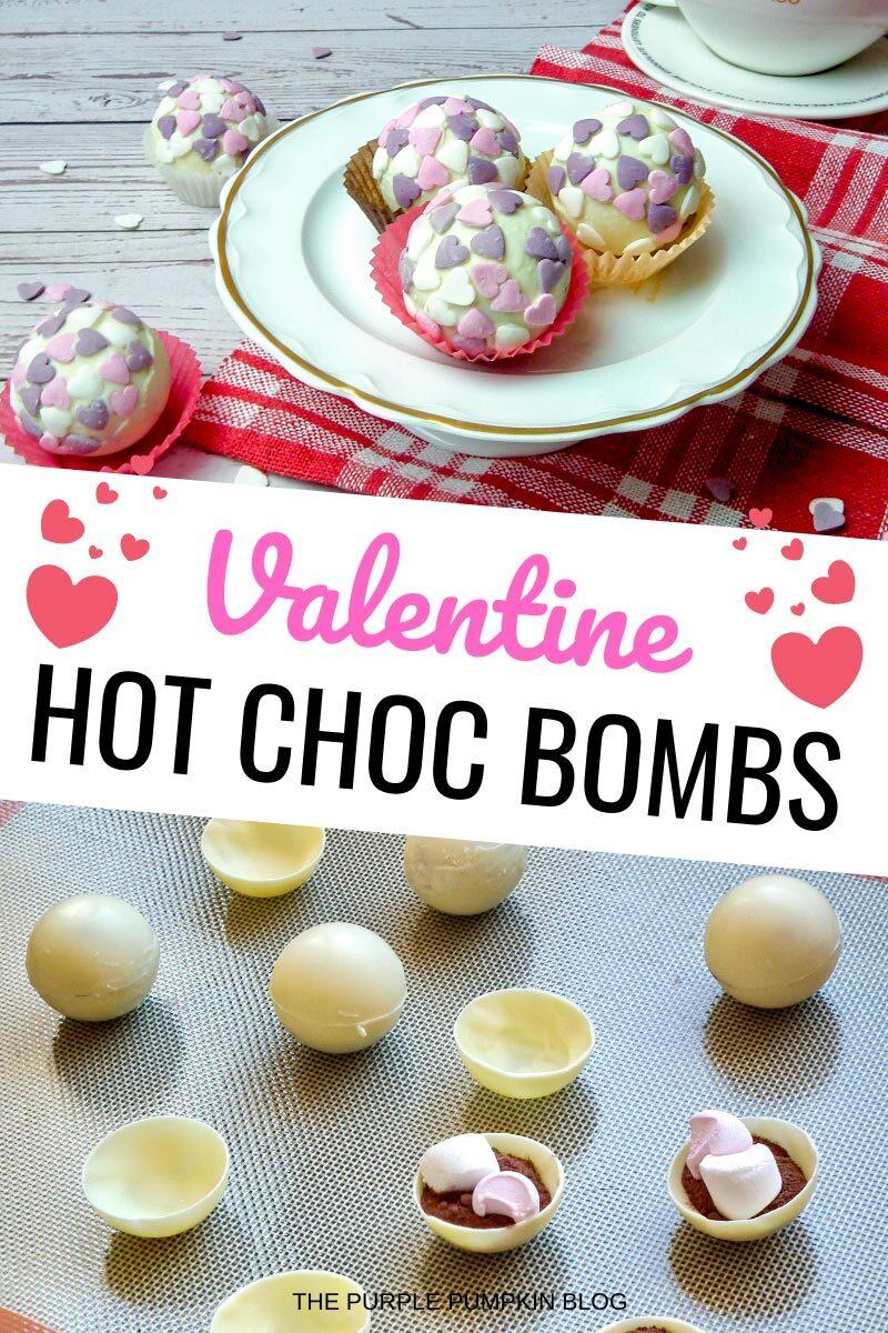 Valentine Hot Choc Bombs