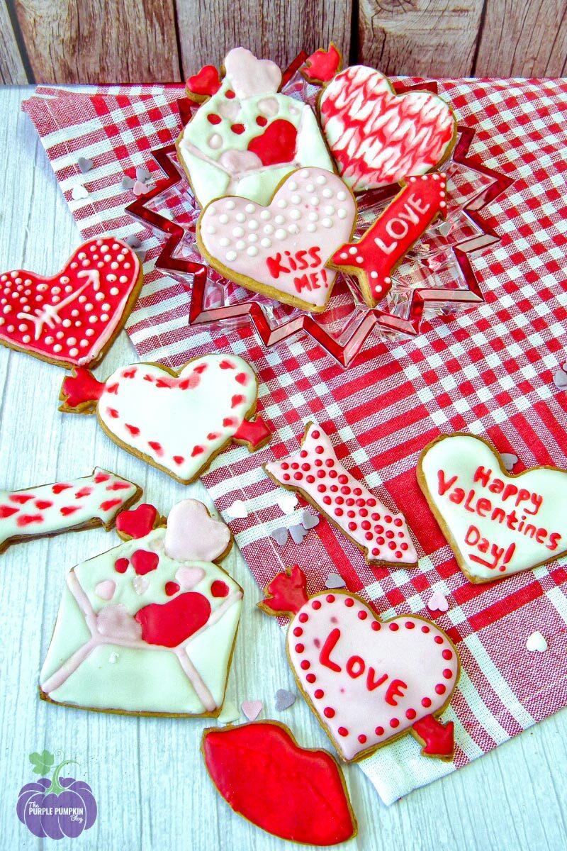 Valentine's Love Cookies Recipe